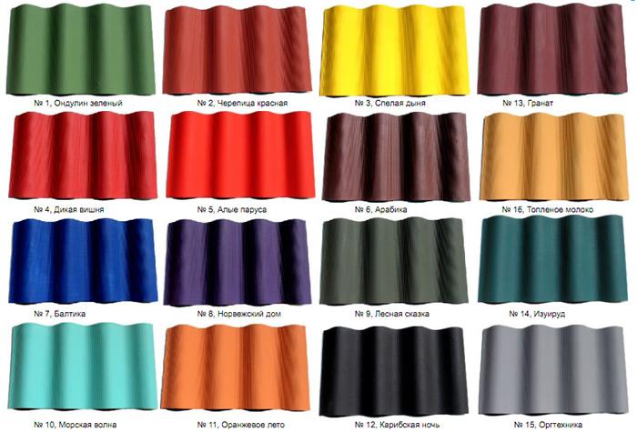 Резиновая краска цвета